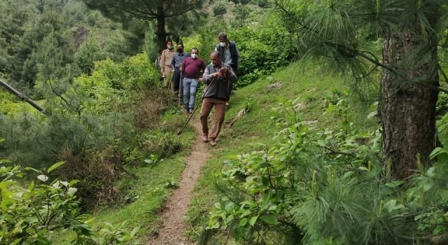 Conservator Srinagar visits Sindh Forest Division Ganderbal