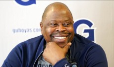NBA Hall of Famer and Georgetown Coach Patrick Ewing Hospitalized With Coronavirus