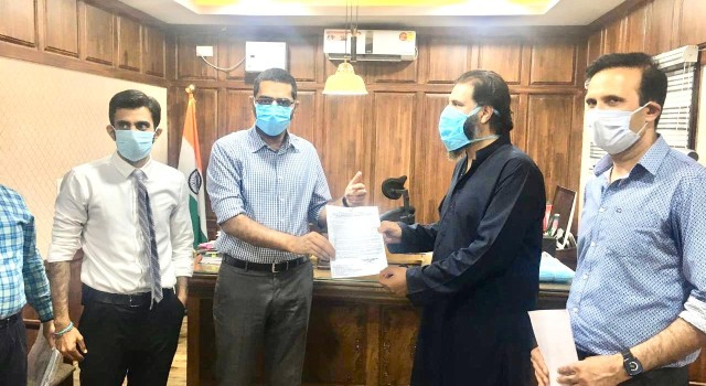 Permission granted by DC Srinagar for home delivery and Takeaway in Srinagar District: RAK President