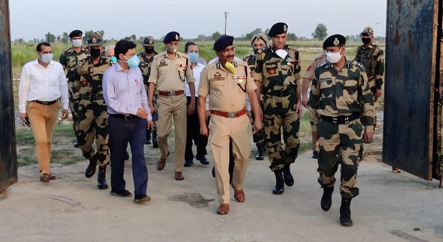 DGP exhorts farmers for sowing less height crops in Basanter river