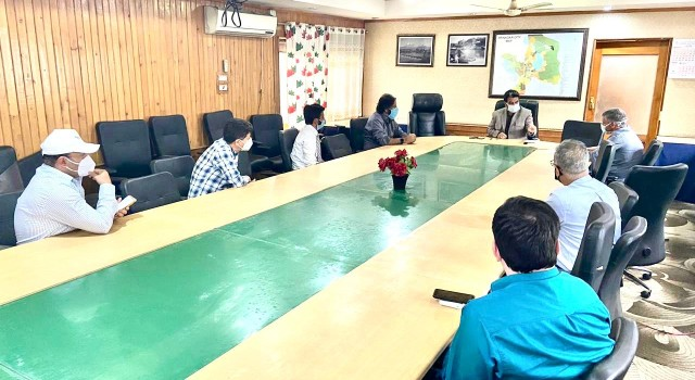 Emergency Meeting Held at SMC, Srinagar