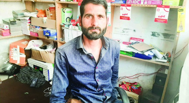 Facing Hardship Anantnag Handicapped Youth Set Example for Others