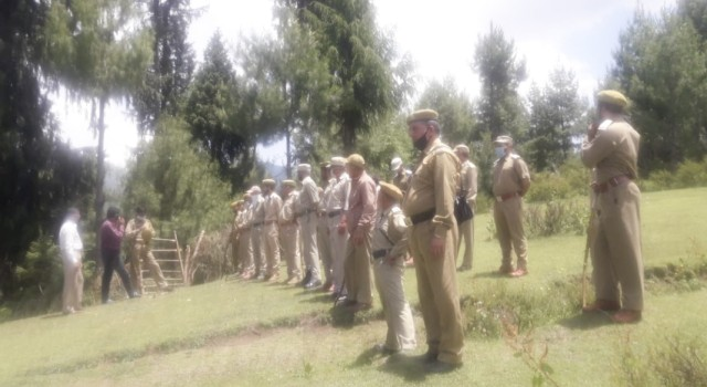 80 Kanals of Forest Land Reclaimed By Forest Department & Forest Protection Force, Tangdhar