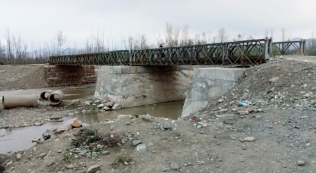 Washed away in 2014, Bridge in Anantnag awaits completion