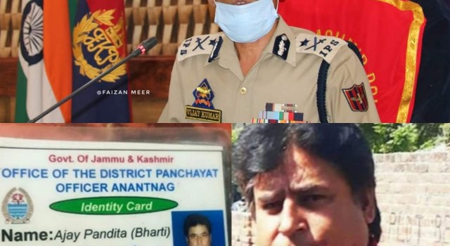 Hizb behind Ajay Pandita's killing, vulnerable sarpanches can seek police protection: IGP