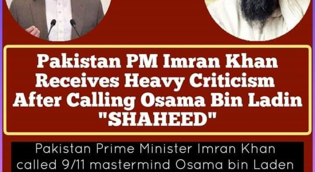 Imran Khan calls Osama Bin Laden a 'shaheed' in parliament, gets hammered