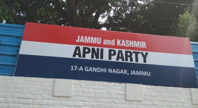 Apni Party appoints 2 district presidents, 3 provincial secretaries