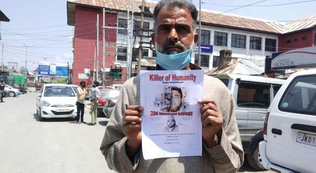 Killing Of A Civilian: Son Seeks Punishment For The Infamous Govt Gunman Papa Kishtwari