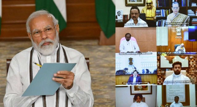 LAC, Stand-off: At All Party Meeting, PM Modi ruled out intrusion in Ladakh