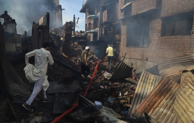 Rs 3 crore crowd sourced to rebuild houses destroyed in Srinagar gunfight
