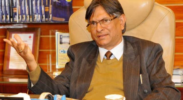 Prof Talat given additional charge of VC Cluster University Srinagar