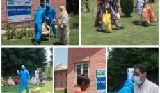 She Hope Society for Women Entrepreneurs distributes relief in Srinagar