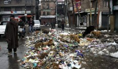 MC Achabal dumps garbage on road, people suffer