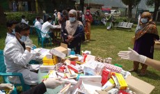 G.R Beigh Memorial Trust organise a three day Medical Camp in Gurez sector