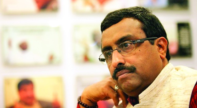 Ram Madhav to visit Kashmir on Sunday