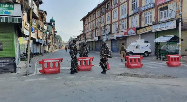 Curfew Imposed In Kashmir, Day Ahead Of Art 370 Revocation Anniversary
