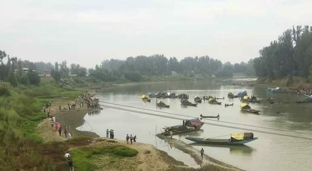 Labourer drowns in Jhelum in Pulwama