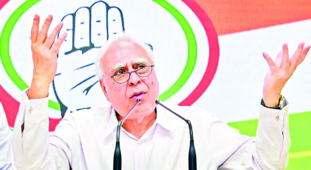 """Which gang were you part of?"" Kapil Sibal to Amit Shah on J&K Alliance"