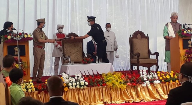 Manoj Sinha takes oath as new Lieutenant Governor J&K