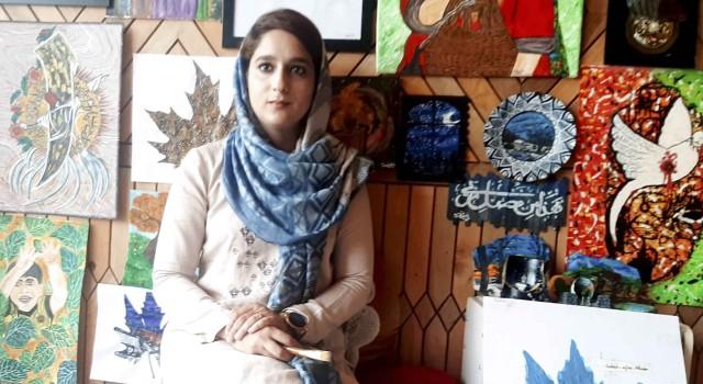 Pursuing MBBS, Anantnag Girl is talented Art Designer