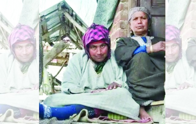 The death of husband and son back in 2009-10, left Zaiba devastated along with her paralysed daughter