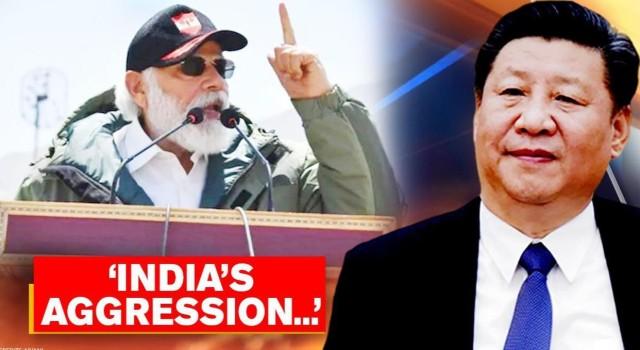 China accuses India on LAC aggression