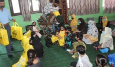 Army Supports Local Orphanage By Providing Children With Winter Clothes