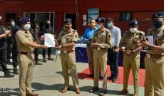 DGP J&K visits Srinagar Police Component