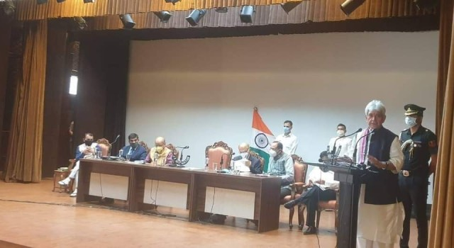 J&K LG Manoj Sinha announces Rs 1350 Cr economic package for revival of UT's ailing business sector