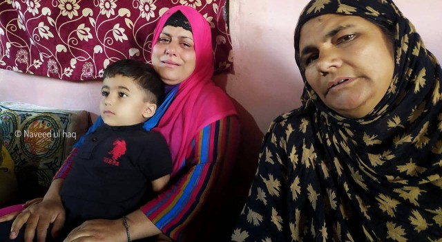 Budgam family appeals militant son to return home for 4-yr-old son, pregnant wife