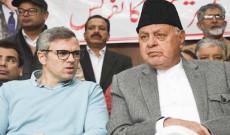 Omar Abdullah-led Gupkar alliance delegation visits Kargil, holds meet with local leadership
