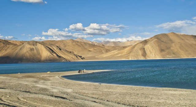 Fresh Chinese Build Up Spotted Near Pangong Lake in Eastern Ladakh