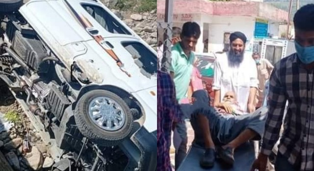 Two Minors Among 8 Persons Injured in Road Mishap in Mendhar