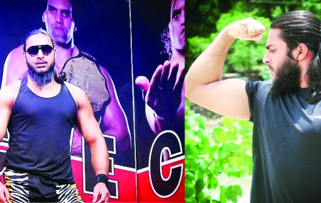 Inspired by The Great Khali; Arif Saleem Bohru (Badshah Khan) became the first professional wrestler from J&K