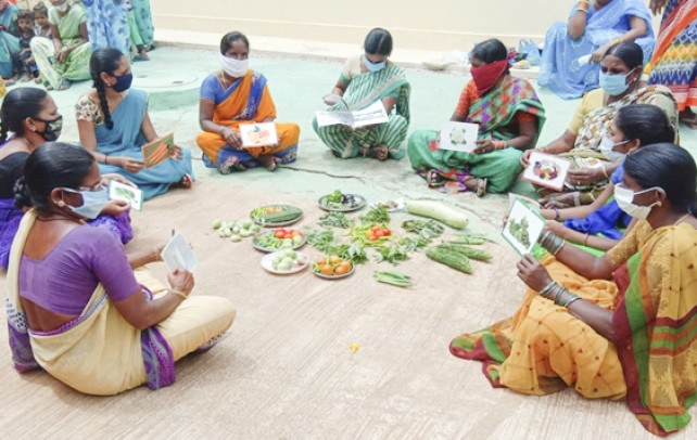 Community Institutions Galvanizing Behaviour Change for Improving Health and Nutrition Status