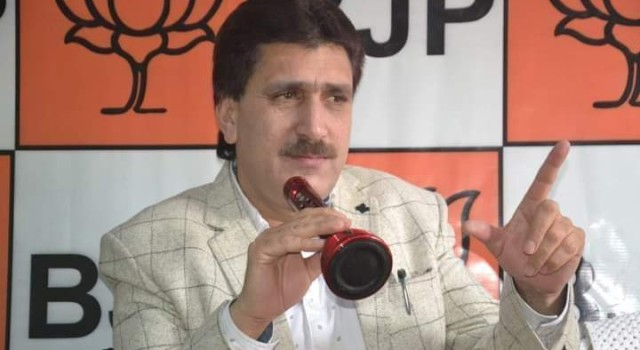 Dr Farooq must contest next elections from Wuhan, China: BJP's J&K spokesman Altaf Thakur