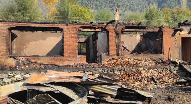 House gutted in fire mishap in Anantnag