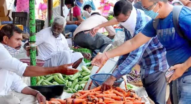 Hyderabad: 60-year-old vegetable market in Narayanaguda demolished
