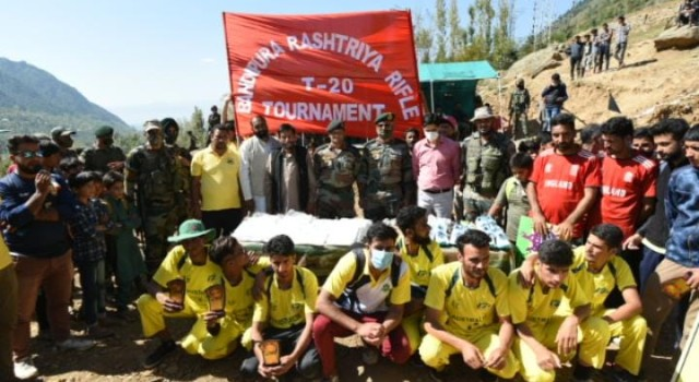 Sumlar T20 Tourney concludes in Bandipora   Team Badshah Sports lifts the throphy