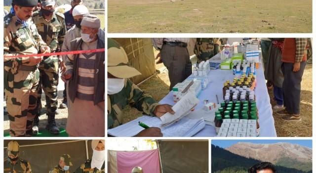 BSF organises Free Medical Camp in Gurez valley