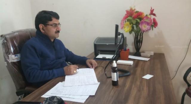 BJP Kulgam Participated in Virtual National Training Program : Vijay Raina