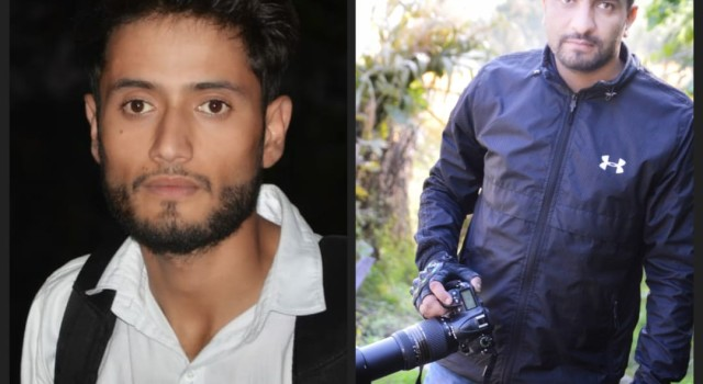 Two young journalists rescue injured driver from bushes in Bandipora village