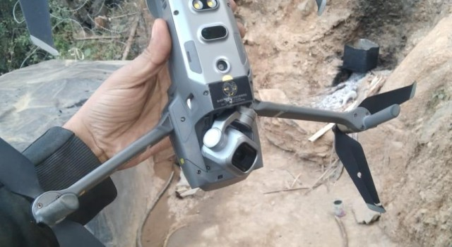 Quadcopter shot down in Keran sector: Army