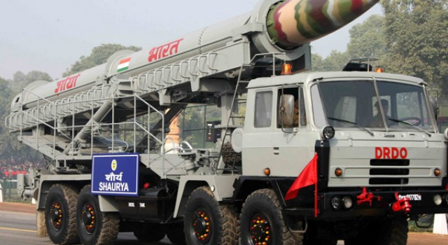 India Successfully Tests Nuclear Capable 'Shaurya' Missile