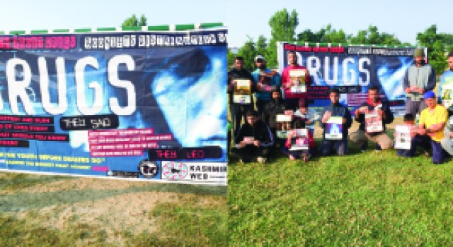 Irfan Attari & Team Dedicated for Crusade against Drug abuse