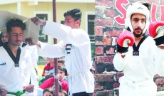 Kamran Amin: The Gold medalist in Taekwondo from Kulgam