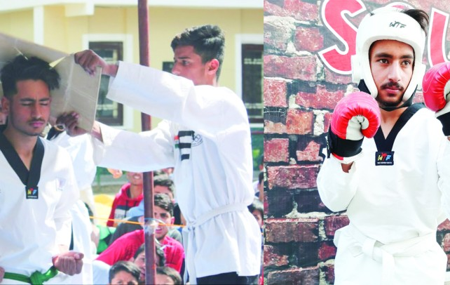 Kamran Amin: The Gold medalist in Taekwondo from Kulgam