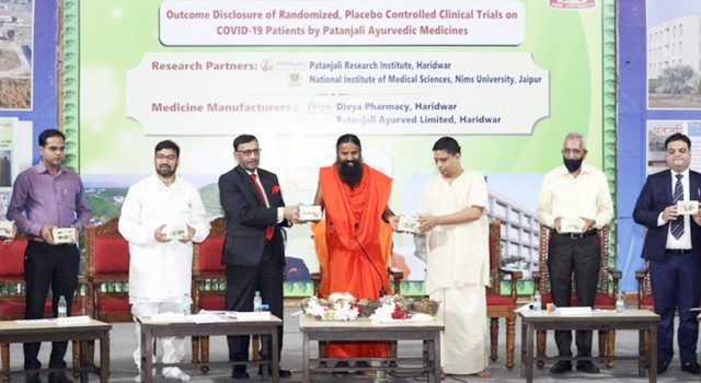 Ramdev's Patanjali institute to conduct clinical trial on Covid-19 patients' immunity