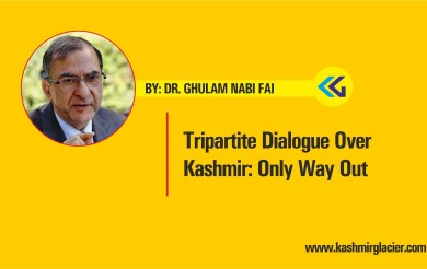 Tripartite Dialogue Over Kashmir: Only Way Out