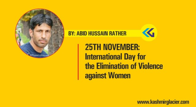 25th November: International Day for the Elimination of Violence against Women